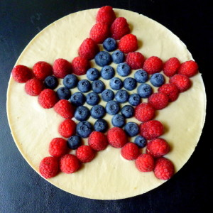 American Beauty Cheesecake